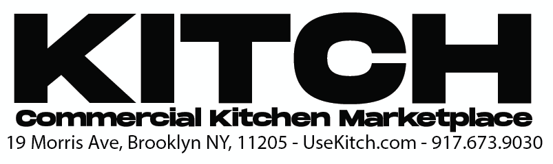 Kitch Commercial Kitchen Marketplace, 19 Morris Ave, Brooklyn NY 11205 - web UseKitch.com - phone 917.673.9030